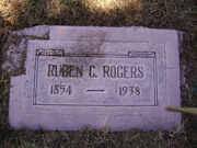 Grave Marker for Ruben Capers Rogers