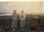 Mum and grandma Harper 1956
