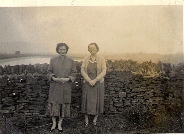 Mum and grandma Harper 1956