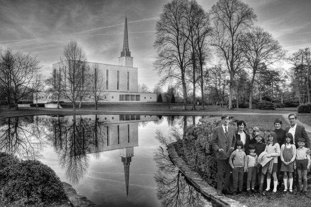 London Temple 1972