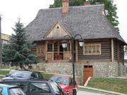 Historic houses in Pruchnik are well cared for by members of the Society for lovers of the Earth Pruchnicki.