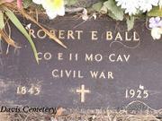 Robt Ball headstone2