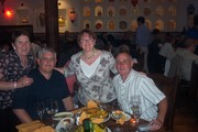 Anne, Gus, Bill and Maria
