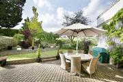 Peamore House garden view