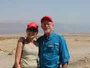 Steve and Kaye Dead Sea