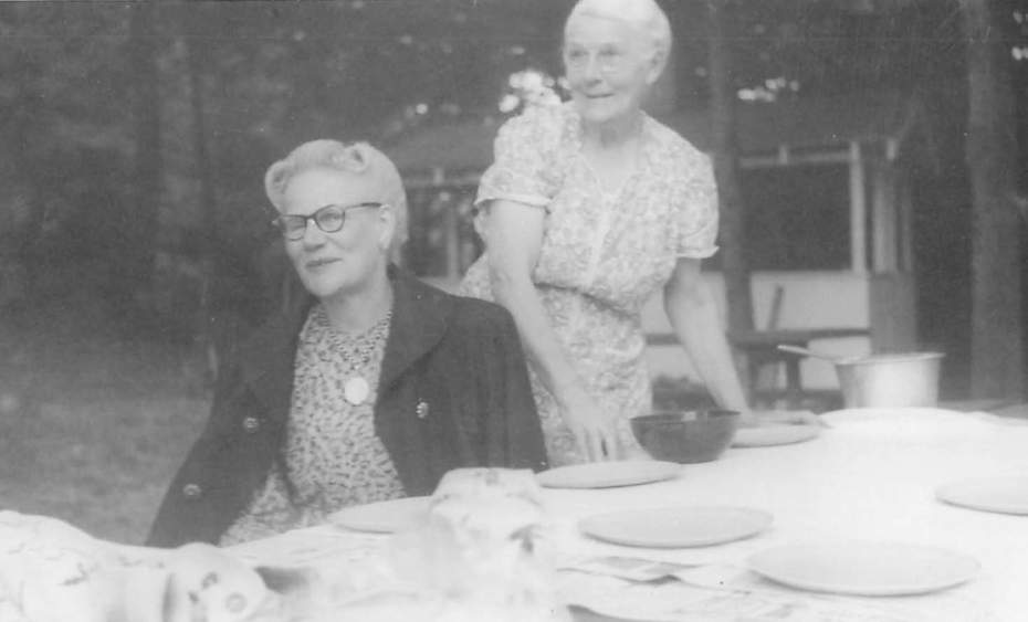 Emma and Alberta Gould