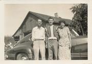 Chuck, Billy & Ida Holtz