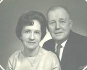 Paul with Evelyn Caudill Burke Wedding Photo