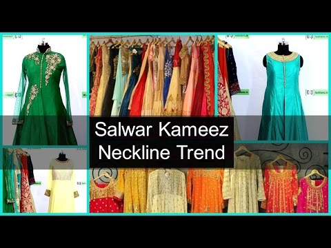 Top Neckline Designs for Kameez - Salwar Kameez neck Designs
