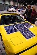 solar power car