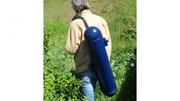 hydroelectric backpack generator