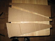 Cardboard blades