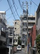 Typical Neighborhood Street in Tokyo