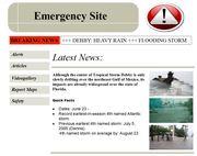 Emergency Site