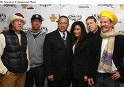 Craig Nobles, Russell Simmons, Dr. Ben Chavis, Baroness Kimberly Moore, Wayne Warwick Williams and  Tobias Huber