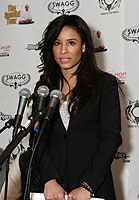 Baroness Kimberly Moore attends the Music 4 Peace Initiative Press conference