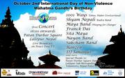 Music 4 Peace Concert Nepal Mahatma Gandhi's Birthday