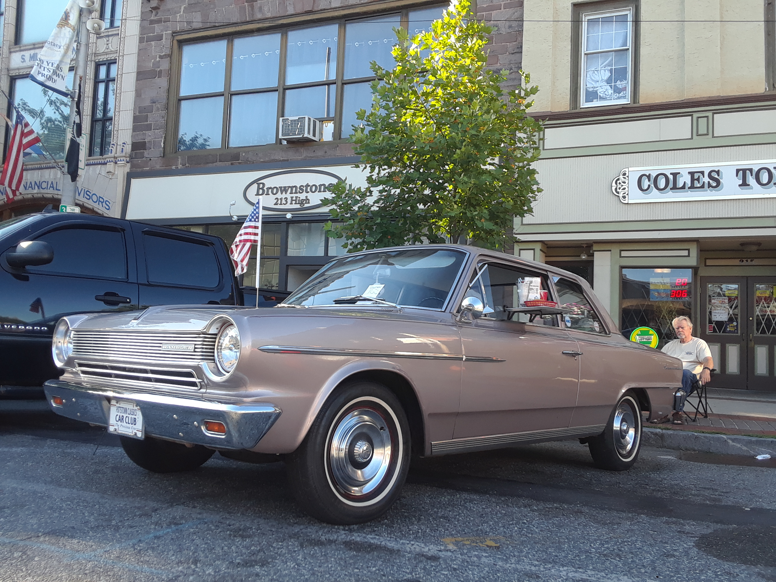 Nostalgia Nights on High Street Pottstown 7 2018 1964 Rambler