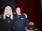 Me and Charlie Landsborough