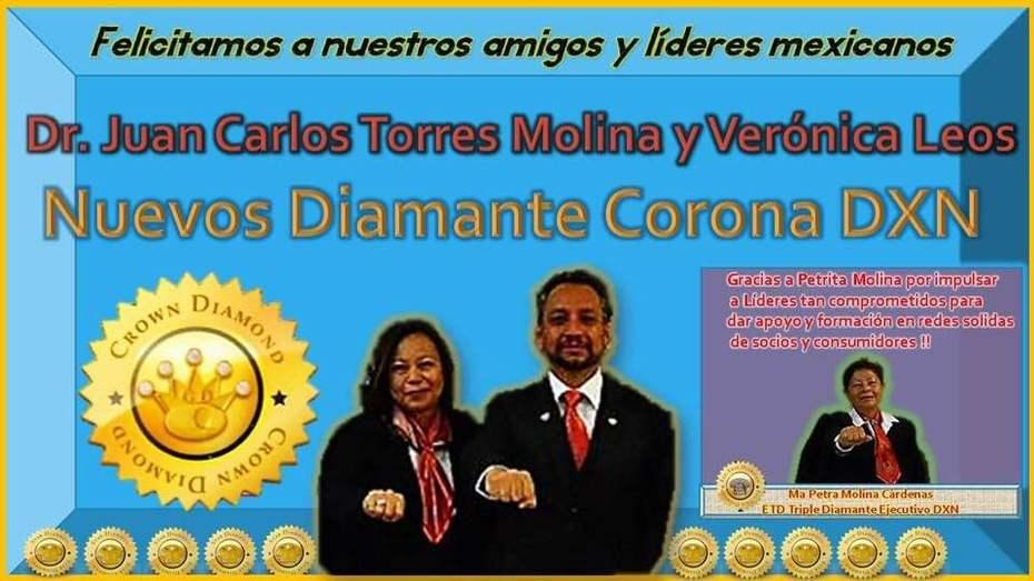 Muchas felicidades a los Nuevos Diamantes Coronas