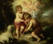 The Infant Jesus and St John the Baptist.