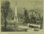 New Drinking Fountain at Wood Green 1879