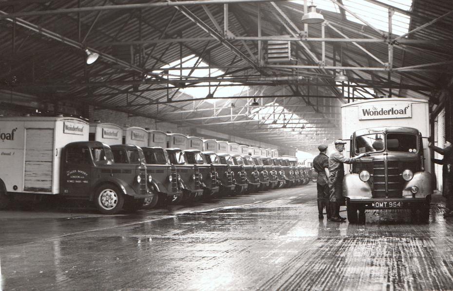 The Wonderloaf fleet being cleaned
