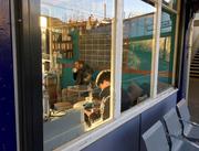 Nice cafe on Bowes Park train station