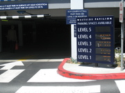 new parking process at Westside Pavilion and Landmark Theatre