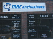 Mac Enthusasts computer store in Rancho Park