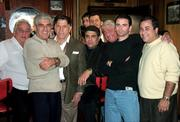 Sonny Franzese & cast of This Thing of Ours