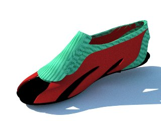 Renders calzado