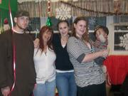 family at party