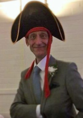 Steve Harris, CEO of Starlight UK Radio, as The Admiralty.