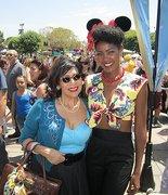 Angelique Noire and Rena Hansen at Pinup Parade