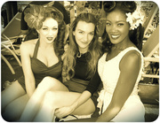 Stephanie Castro, Laura Byrnes, and Angelique Noire