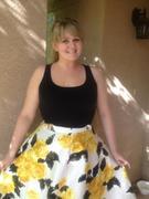 Yellow Floral Doris