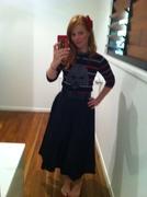 Black Doris Skirt