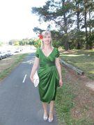 Ava Dress in Green