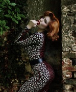 Deadly Dames Hotrod Honey Leopard Print