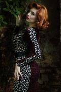 Deadly Dames Hotrod Honey Leopard Print