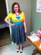 Striped Jenny Skirt