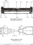 bumper, rear, 63, same as 64