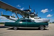 my 1964 Cadillac with the Dornier Do 24ATT
