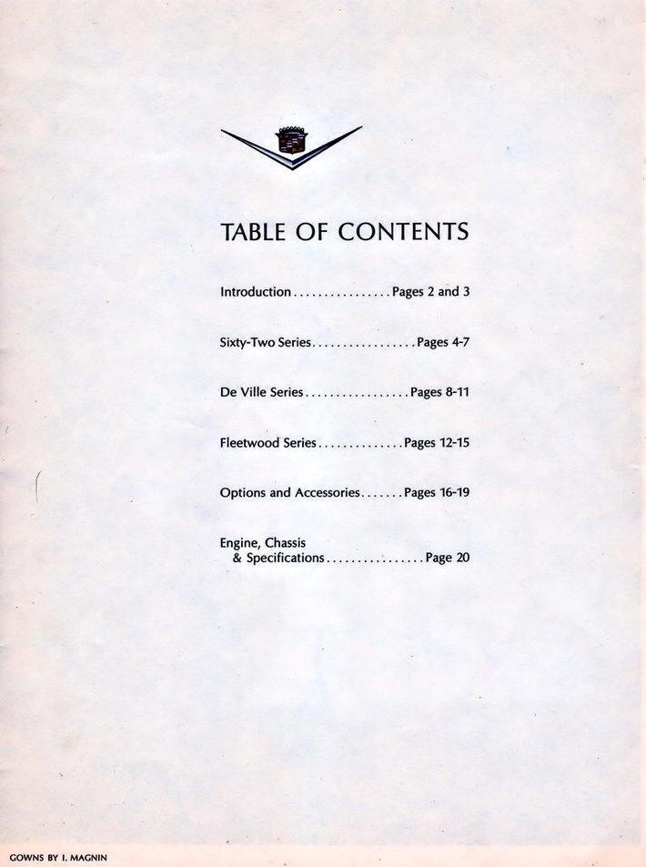 1964 Cadillac Brochure Page 1