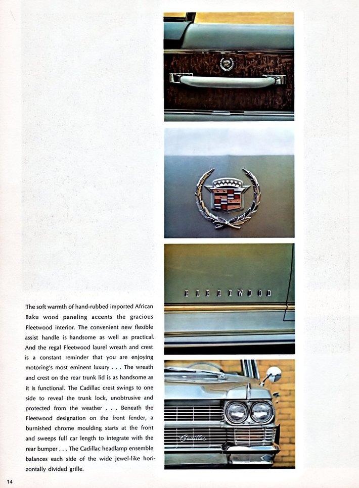 1964 Cadillac Brochure Page 14