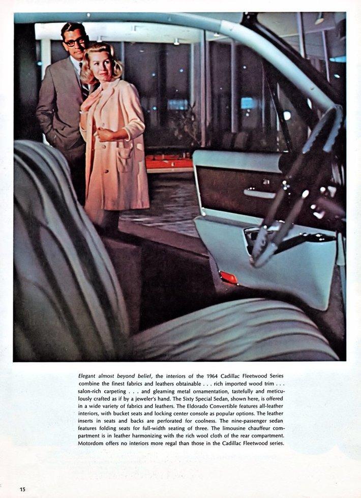 1964 Cadillac Brochure Page 15