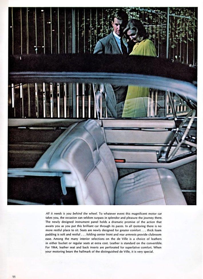 1964 Cadillac Brochure Page 11