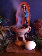 4_Preparing for la limpia with copal, egg and prayer_JesseHathawayDiaz