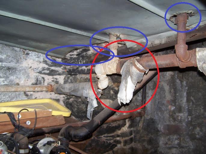 asbestos w-holes